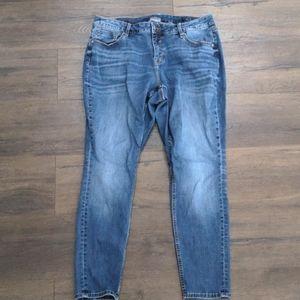 Vigoss Jagger Skinny Jeans Classic Fit Size 16